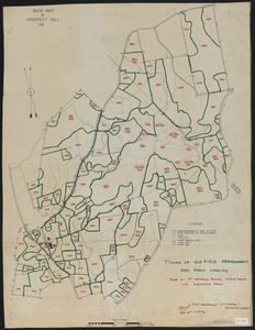 Timing of Old Field Abandonment and Early Logging on Prospect Hill