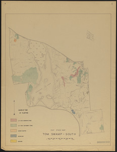 Plantations Tom Swamp South - cover at time of planting 1947