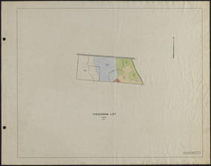 Higginson Lot 1929 Stand Map