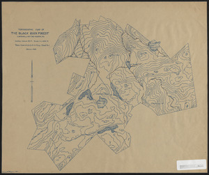 Topographic map of the Black Rock Forest