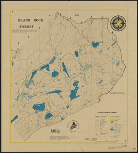 Black Rock Forest Topography and Natural Features