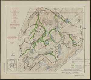 Black Rock Forest Map of Inoperable Land, Wetlands and Protection Forests