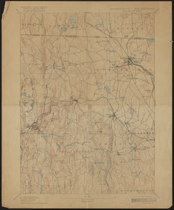 Topographic Maps of the Winchendon Sheet