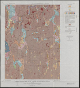 Surficial Geology and glaciofluvial sequences of the Athol Quadrangle - preliminary map 1963 and final maps 1966