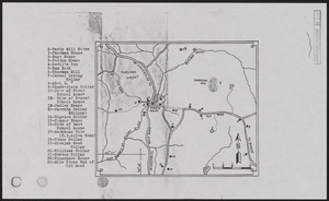 Cellar Holes of Pirate Valley, Sherman Hill, Swift River, Harvard Forest and Vicinity
