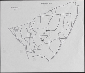 Lyford Grid overlayed onto 1947 Prospect Hill I and VII map