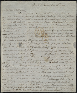Letter from John Bishop Estlin, Bristol, [England], to Maria Weston Chapman, September 15th, 1849