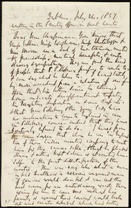 Letter from Richard Davis Webb, Dublin, [Ireland], to Maria Weston Chapman, July 24, 1857