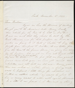 Letter from Isabel Jennings, Cork, [Ireland], to Maria Weston Chapman, November 15, 1842