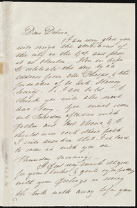Letter from Mary Gray Chapman to Deborah Weston, Thursday, 28th [June 1838], our dear Ann's birthday