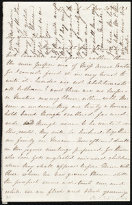 Letter from Emma Michell, 47 Park St., [Bristol, England], to Anne Warren Weston, Nov. 20th / [18]53(?)