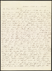 Letter from Abby Kelley Foster, Waterloo, [NY], to Maria Weston Chapman, Sept. 4, 1843