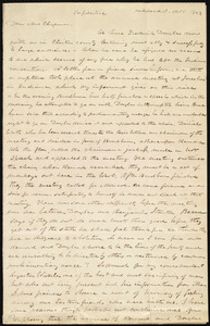 Letter from Abraham Brooke, Oakland, O[hio], to Maria Weston Chapman, Oct. 5, 1843