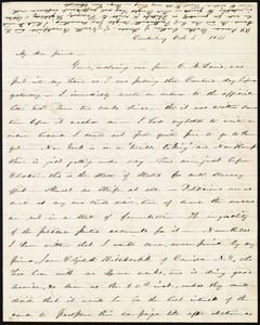 Letter from Abby Kelley Foster, Canterbury, [NH], to Maria Weston Chapman, Oct. 4, 1844