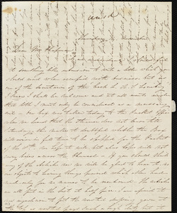 Letter from Isabel Jennings, [Cork, Ireland], to Maria Weston Chapman, Thursday, 14 November [1844]