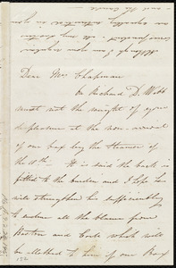 Letter from Isabel Jennings, [Cork, Ireland], to Maria Weston Chapman, [1845?]