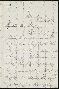 Letter from Isabel Jennings, [Cork?, Ireland], to Maria Weston Chapman, Wednesday, Oct. 15, [1845?]
