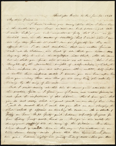 Letter from Abby Kelley Foster, Darlington, Beaver Co., Pa., to Maria Weston Chapman, Jan. 14, 1846