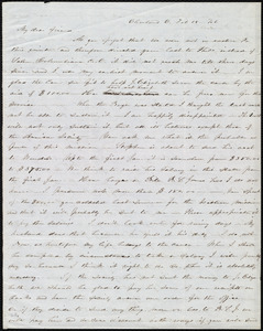 Letter from Abby Kelley Foster, Cleveland, O[hio], to Maria Weston Chapman, Feb. 18, [18]46