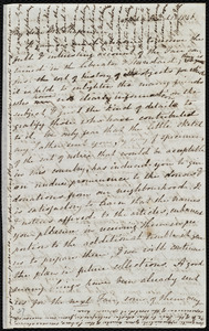 Letter from Mary Anne Estlin, 47 Park St[reet], [Bristol, England], to Maria Weston Chapman, March 1, 1846