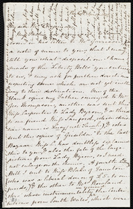 Letter from Mary Anne Estlin, Park St[reet], [Bristol, England], to Maria Weston Chapman, April 19, 1847