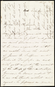 Letter from Isabel Jennings, Cork, [Ireland], to Maria Weston Chapman, October 1847