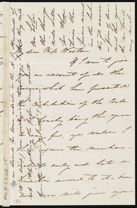 Letter from Isabel Jennings, [Cork, Ireland], to Anne Warren Weston, Nov. 29, [1849]