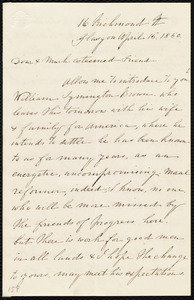 Letter from Catherine Paton, 16 Richmond St., Glasgow, [Scotland], to Anne Warren Weston, April 15, 1850