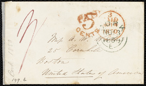 Letter from Isabel Jennings, [Cork, Ireland], to Anne Warren Weston, November [1850]