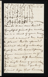 Letter from Mary Anne Estlin, 5 Gray St., Edinburgh, [Scotland], to Maria Weston Chapman, Oct. 27, [18]55