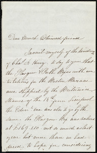 Letter from Catherine Paton, [Scotland], to Maria Weston Chapman