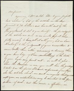 Letter from Catherine Paton, Glasgow, [Scotland], to Maria Weston Chapman, 1st Nov. 1841