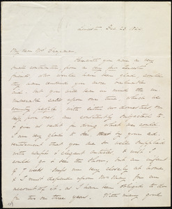 Letter from Sarah Russell May, Leicester, [Mass.], to Maria Weston Chapman, Dec. 23, 1844