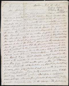 Incomplete letter from Edmund Quincy, Dedham, [Mass.], to Caroline Weston, Feb. 10, 1846