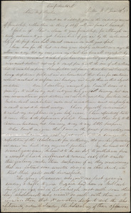 Letter from Jane M. MacPhail, Pictou, NS [Nova Scotia], to Anne Warren Weston, June 29th, [18]52