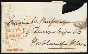 Letter from Elizabeth Pease Nichol, Stamford Mill(?), to Maria Weston Chapman, Thursday morn'g, [July 1851]