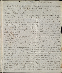 Letter from Hannah Webb, Dublin, [Ireland], to Maria Weston Chapman, 18th of October 1845