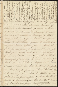 Letter from Sarah Hilditch, Wrexham, [Wales, United Kingdom], to Maria Weston Chapman, Oct. 31 / [18]46