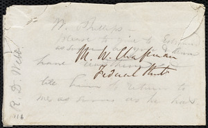 Letter from Richard Davis Webb, Dublin, [Ireland], to Maria Weston Chapman, Oct. 31, 1846