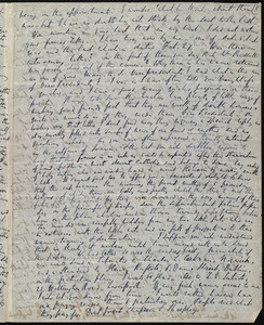 Partial letter from Richard Davis Webb, [Dublin, Ireland?], to Maria Weston Chapman, [1846]