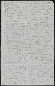 Letter from Richard Davis Webb, Dublin, [Ireland], to Caroline Weston, February 22, 1849