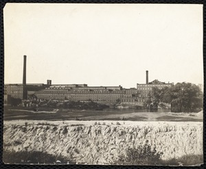 Ayer Mill construction, c 1909