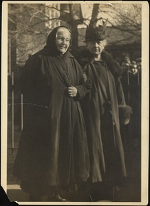 Madame Catherine Breshkovsky and Helen Temple Cooke, Feb. 1919