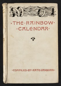 The rainbow calendar [Front cover]