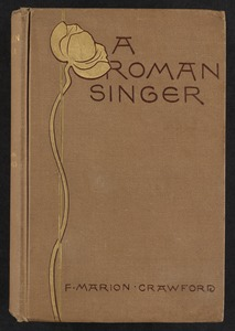 A Roman singer [Front cover]