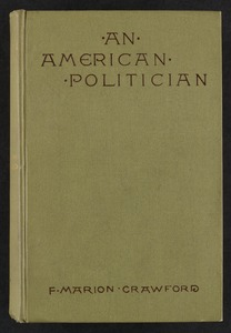 An American politician [Front cover]