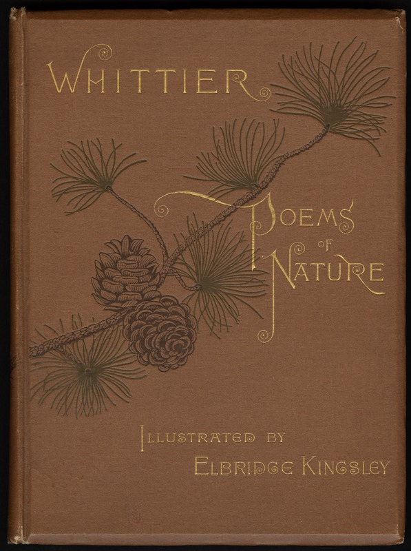 Poems of nature [Front cover]