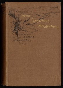 In the Tennessee mountains [Front cover]