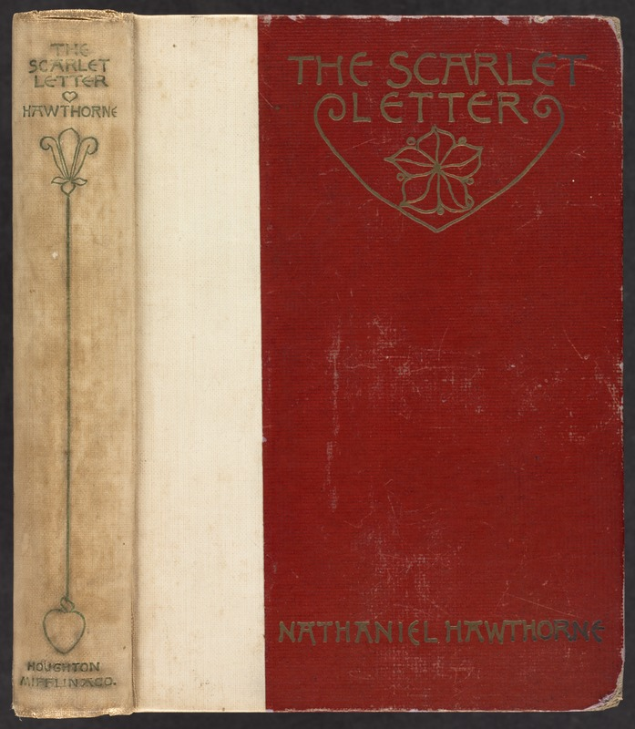 The Scarlet Letter Spine And Front Cover
