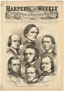 The seceding Mississippi delegation in Congress